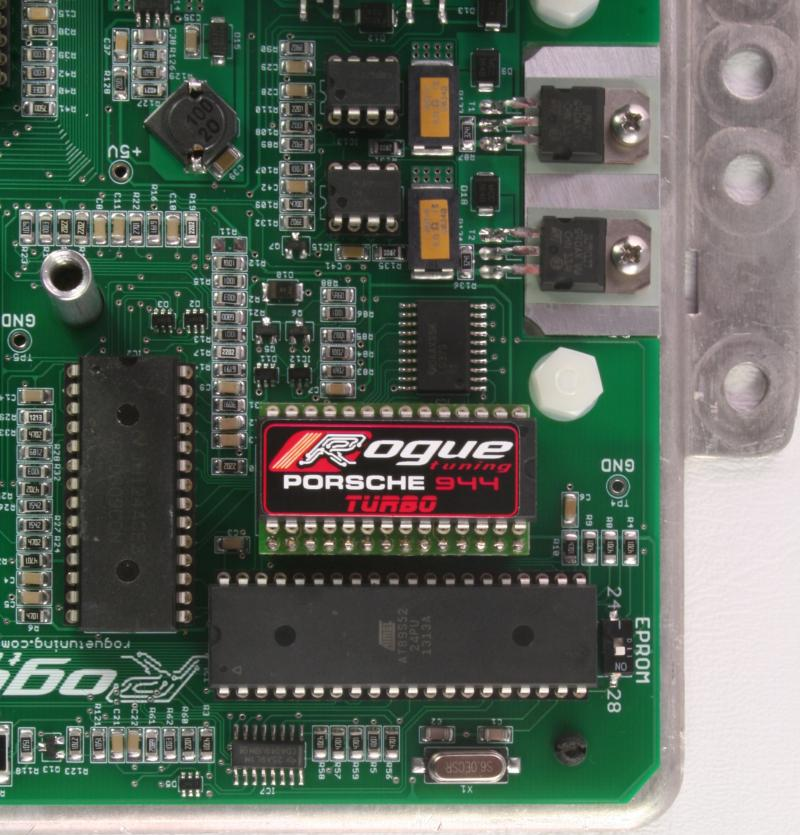 Rogue Tuning, Inc. ECU close-up.