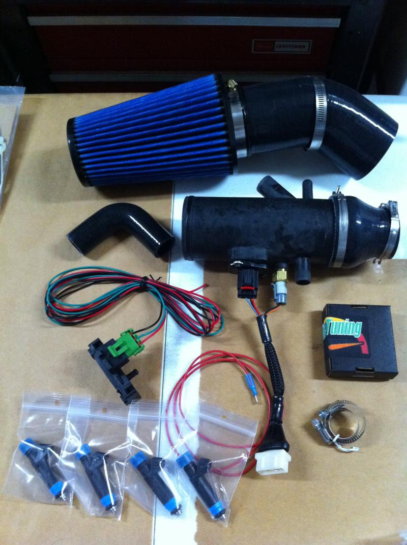 Full M-Tune Kit, including injectors.