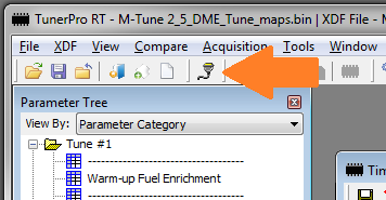 TunerPro connect to DME Tuner